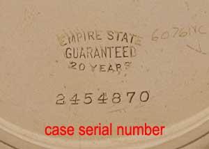 Longines Serial Numbers (số sơ ri) và Năm sản xuất cho những đồng hồ Longines cổ và xưa từ 1867-1982