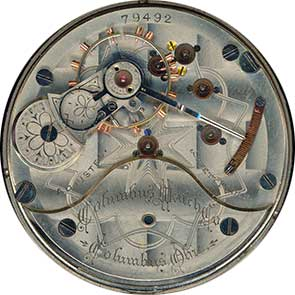Columbus 18-size movement