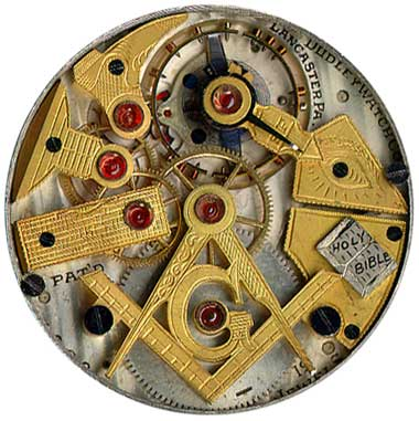 The Dudley Masonic Watch - Model 2