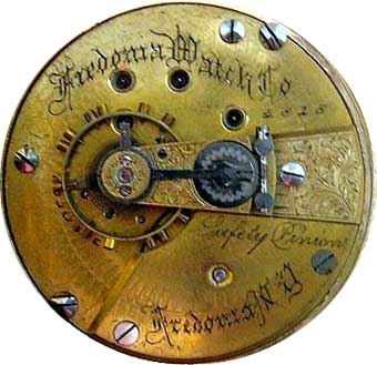 An 18-size full-plate Fredonia Watch