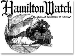 Hamilton - The Railroad Timekeeper of America