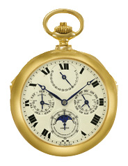 Patek Philippe Graves Complicated Watch, dial side