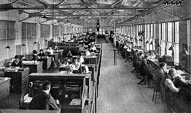 Customer Department at the Waltham Watch Company
