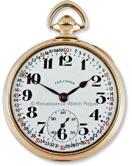 Illinois 23-jewel Sangamo Special pocket watch