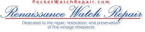 Renaissance Watch Repair: Specializing in antique watch repair and restoration.