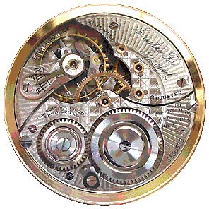 Illinois Santa Fe Special, a beautiful example of a railroad-marked pocketwatch.